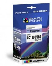 Black Point multipack BPBLC1100_980CMYK (Brother LC1100/980) 4 színű