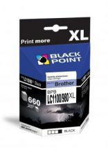 Black Point patron BPBLC1100_980XLBK (Brother LC1100/980BK) fekete