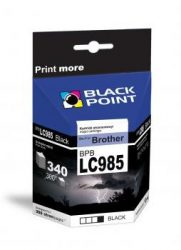 Black Point patron BPBLC985XLBK (Brother LC985BK) fekete