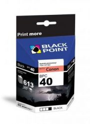 Black Point patron BPC40XL (Canon PG-40) fekete