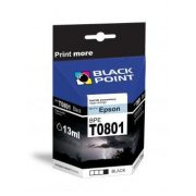 Black Point patron BPET0801 (Epson T0801) fekete