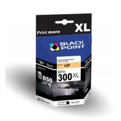 Black Point patron BPH300XLBK (HP CC641EE) fekete