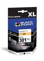 Black Point patron BPH301XLBK (HP CH563EE) fekete