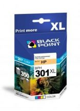 Black Point patron BPH301XLC (HP CH564EE) színes