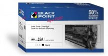 Black Point toner LBPPH55A (HP CE255A) fekete